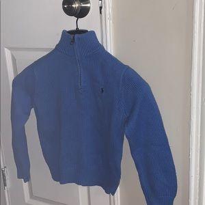 Blue polo Ralph Lauren shirt